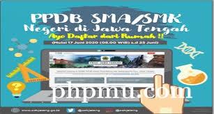 PPDB SMA Negeri 2 Kudus TP 2020/2021
